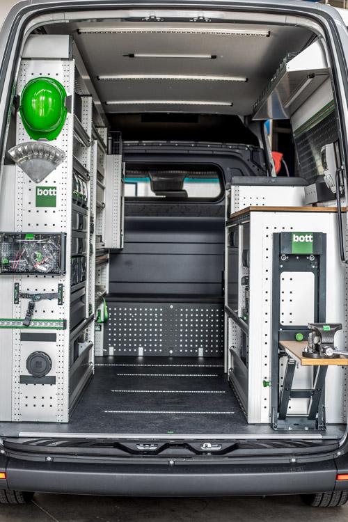 Die aktuelle Generation der Fahrzeugeinrichtung: bott vario3
